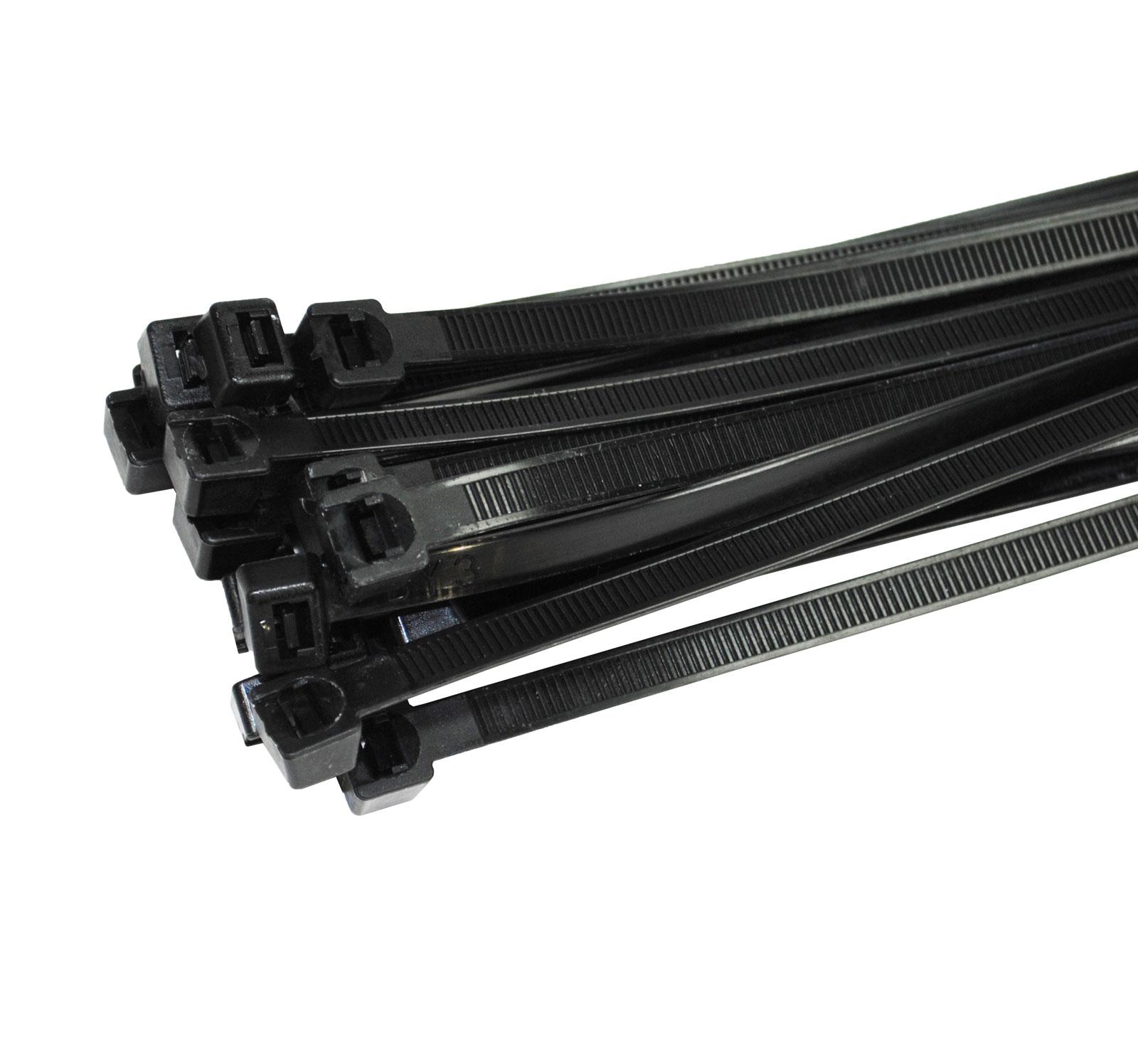 Kabelbinder UV stabil Nylon Polyamid 6.6 Industriequalität schwarz ...