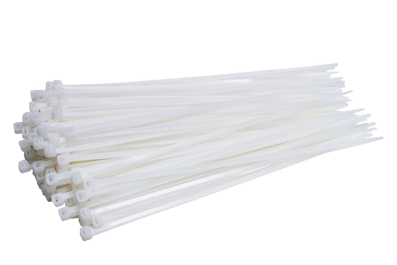 Kabelbinder UV Nylon Polyamid 6.6 Industriequalität schwarz 100 mm x 2,5 mm