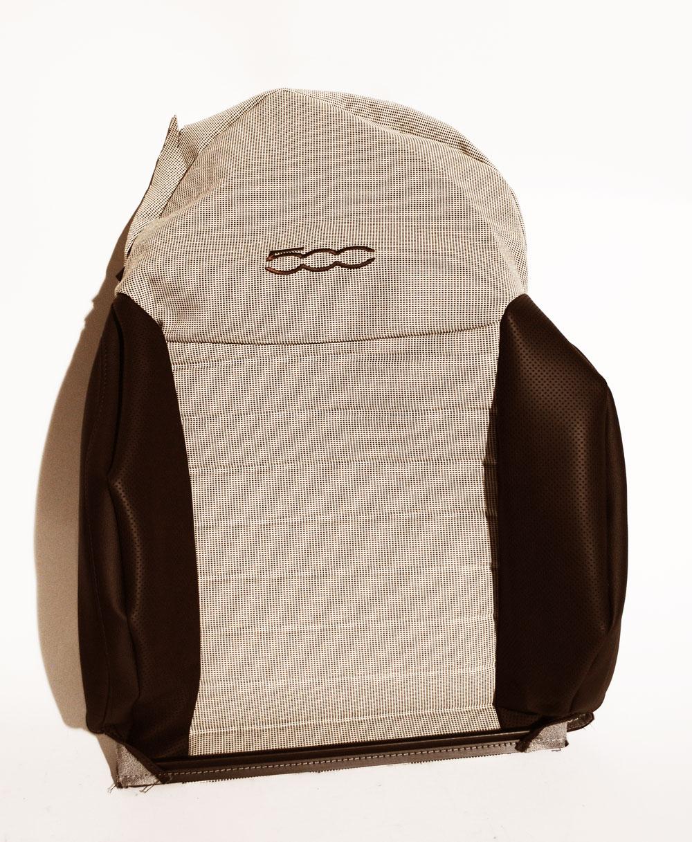 original fiat sitzbezug leder fiat 500 312 links 2007 2012 71753725 ebay. Black Bedroom Furniture Sets. Home Design Ideas